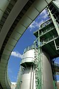 Refinery Detail Print by Carlos Caetano