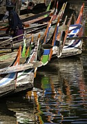Mark Coran - Reflected Boats II