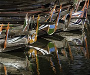 Mark Coran - Reflected Boats