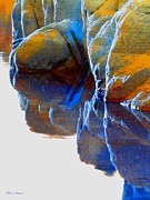 Prescott Photo Metal Prints - Reflected Metal Print by Robert Hooper
