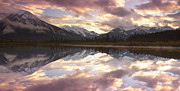 Reflective Water Photos - Reflecting Mountains by Keith Kapple