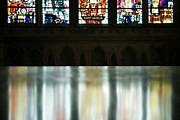 Reflecting On The Beauty Of Canterbury Cathedral Print by Lisa Knechtel