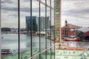 Inner Harbor Photos - Reflecting on the Chesapeake  by JC Findley