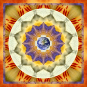 Sacred Geometry Posters - Reflection Poster by Bell And Todd