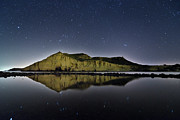Astronomy Art - Reflection In Lake by Ser-y-star