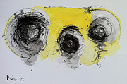 Ink Drawing Mixed Media - Reflection Number One by Mark M  Mellon