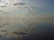 Vadim Burkovsky - Reflection of clouds in...