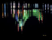 Dale   Ford - Reflection of Throggs Neck Bridge