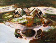 Fauna Originals - Reflection Toad by Brian Carlton