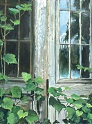 Rustic Realism Art - Reflection by William  Brody