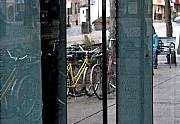 Bicycle Mixed Media Posters - Reflection x2 Poster by Gary Everson