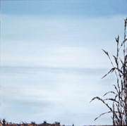 Minimalistic Paintings - Reflections 2 by Cheryl Allin
