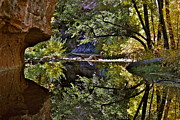 Fall Colors - Reflections 2  by Katherine Halstead