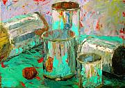 Cans Paintings - Reflections by Art Nomad Sandra  Hansen
