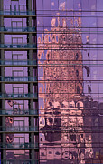 Mecklenburg County Prints - Reflections in Charlotte Print by Patrick Schneider