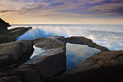 Maine Photographs Prints - Reflections in Monument Cove Print by Rick Berk