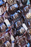 Glasses Reflecting Prints - Reflections in Sunglasses Print by Jeremy Woodhouse