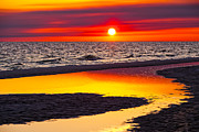 Sunset Prints - Reflections Print by Janet Fikar
