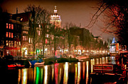 Amsterdam Digital Art - Reflections of Amsterdam by Nadia Sanowar