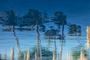 Abstract Palm Trees Photos - Reflections of Hawaii by Susan Stone
