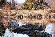 Scenery Photos - Reflections of Thanksgiving by Peter  McIntosh