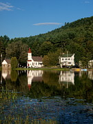 Adirondacks Region - Reflections of the day by Joshua House