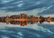 Alexandria Bay Posters - Reflections of the Heart Poster by Lori Deiter
