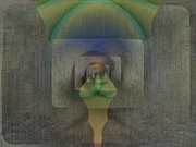 Symmetry Art - Reflections Of The Soul by Tim Allen