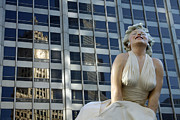 Marilyn Photos - Reflections of Wrigley by Lauri Novak