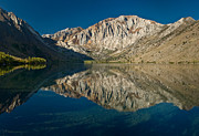 Convict Lake Art - Reflections on Convict Lake by Greg Nyquist