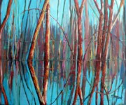 Floods Paintings - Reflections by Saga Sabin