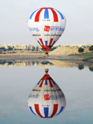 Hot Air Balloon Photos - Reflective Balloon by Graham Taylor