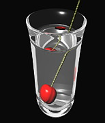 Optical Illusion Art - Refraction by Power And Syred