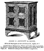 Refrigerator, 1876 Print by Granger