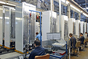 Man Machine Prints - Refrigerator Factory Print by Ria Novosti