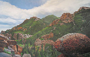 Kerry Neuville Paintings - Refrigerator Gulch by Kerry Neuville