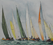 Carol Mclagan Art - Regatta by Carol McLagan