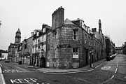 Overcast Day Photo Posters - Regent Quay And Marischal Street Aberdeen Scotland Uk Poster by Joe Fox
