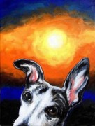 Whippet Originals - Reggie In The Morning by Billie Mann