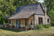 Hill Country Digital Art Prints - Registered Early Texas Dwelling Print by Linda Phelps