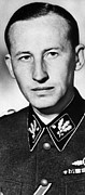 Military Uniform Metal Prints - Reinhard Heydrich 1904-1942, High Metal Print by Everett