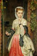1876 Painting Metal Prints - Rejected Addresses Metal Print by Charles Sillem Lidderdale