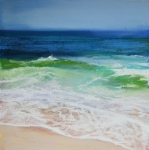 New England Pastels Prints - Relax Print by Jeanne Rosier Smith