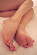 Sexy Soles Photos - Relaxing Feet by Tos Photos
