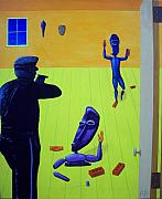 Police Paintings - Relic autoanimation interrupted by Rudy Pavlina