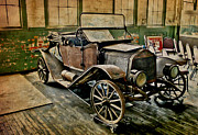 Ford Model T Car Prints - Relic Print by Jim Painter