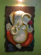 Religious Reliefs - Relief Sculpture by Prasanna Chury