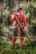 French Revolution Prints - Reloading Under Fire Print by Randy Steele