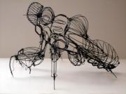 Insect Sculptures - Remains Of Summer by Lisandro Baibiene
