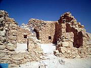 Synagogue Photos - Remains of the Massada Synagogue by Avi Horovitz